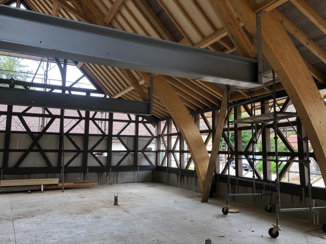 Construction d'une maison bressane